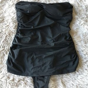 Other - Black Strapless Swimsuit